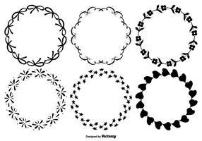 Nettes dekoratives Rahmenset