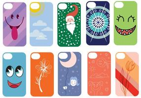 Gratis Phone Case Vectors