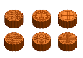 Free Mooncake Vector