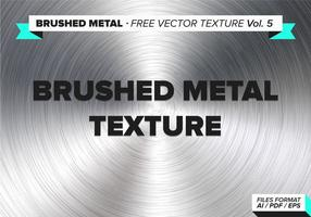 Gebürstetem Metall freien Vektor Textur vol. 5