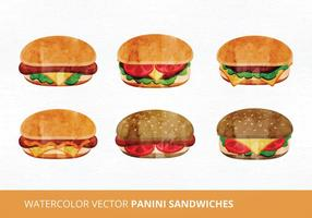 Panini Sandwich Vektor-Illustration