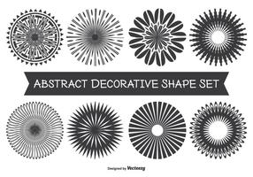 Assorted Abstract Decorative Shape Set