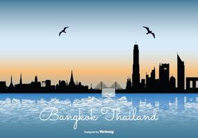 Bangkok Skyline Illustration