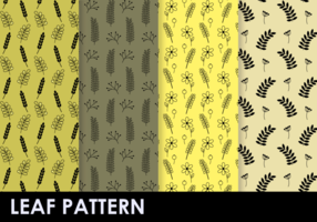 Free Plants Pattern Vector