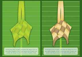 Plantillas de Ketupat