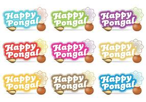 Glückliche Pongal-Titel