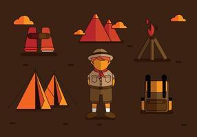 Boy Scouts Vectores
