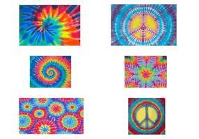 Tie Färgvektorer
