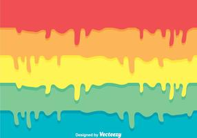Colorful Paint Drip Background