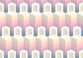 Seamless Pattern Block Entrance