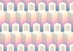 Sömlös mönster block ingången