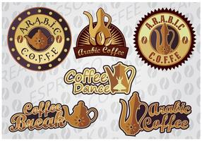 ARABIC COFFEE vector