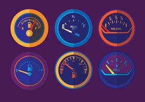 Fuel Gauge Vectors