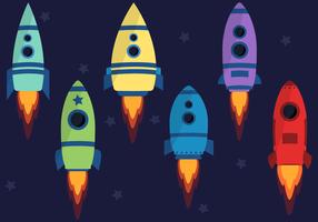Vecteur de vaisseau spatial gratuit