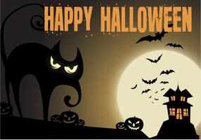 Free Haunted Night Vector