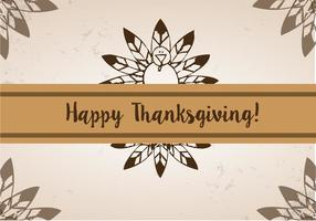 Gratis Thanksgiving Feather Vector