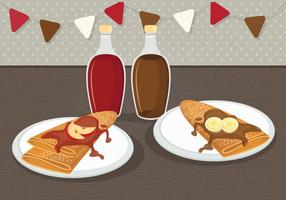 Crepes Vector Illustration