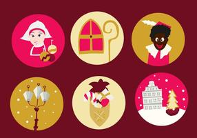 Christmas Netherlands Free Icons vector