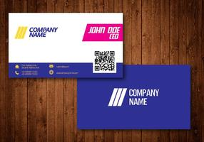 Bright Creative Business Card vector