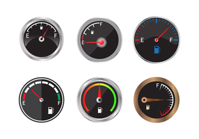 Free Fuel Gauge Vector