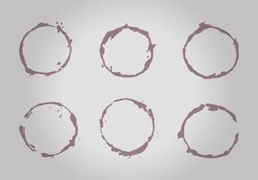 Wine Stains Vector Pack