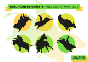 Bull Rider Gratis Vector Pack Vol. 2