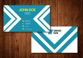 White Stripe Creative Business Card