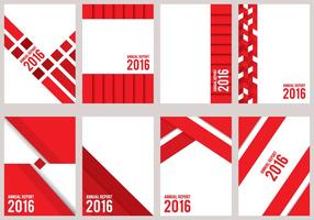 Red Annual Report Design