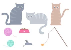 Freie Katze Vektor