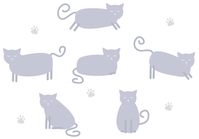 Gratis Cat Vector