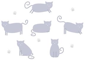 Vetor de gato grátis