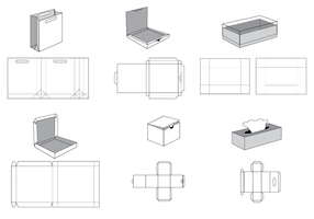Make Your Own Cardboard Box Template from static.vecteezy.com