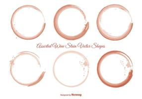 Wine Stain Shape Set