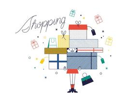 Free Shopping Vector
