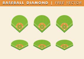 Baseball Vector Free Diamond