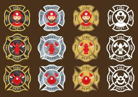 Feuerwehrmann Embleme