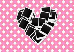 Gratis hjärta ramar vektor
