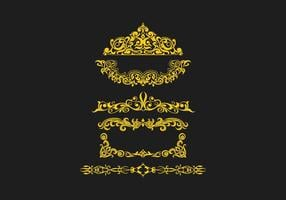 FREE SCROLLWORK VECTOR 3