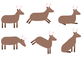 Vector Deer Gratis