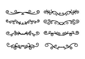 Scroll Work Vector