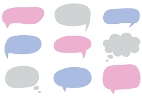 Free Dialogue Bubbles Vector
