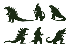 Gratis Godzilla Vector