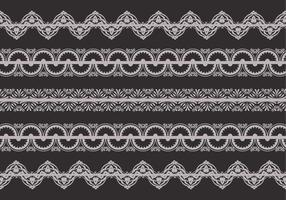 Retro Lace Trim Vektor