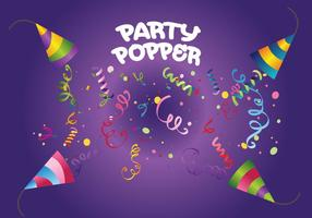 Party Popper Vector