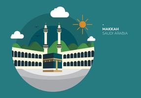 Makkah kabah vectorial