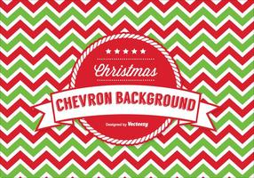 Christmas Chevron Pattern Background