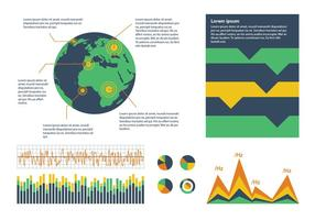 Geologie Jahresbericht Vektor