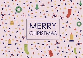 Vecteur Joyeux Noël gratuit