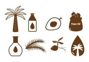Vecteur d'huile de palme