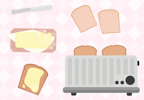 Free Toast Vector